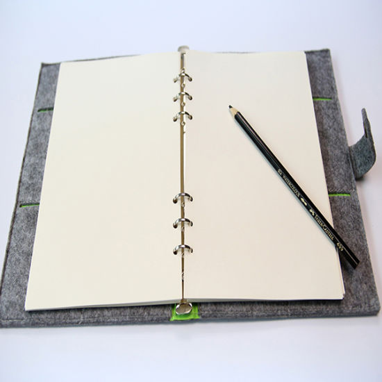 Soft Cover Notebook Spiral Binding File 2016