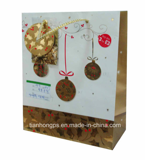Packaging Paper Bag (OEM-PB028) , Printed Paper Bag