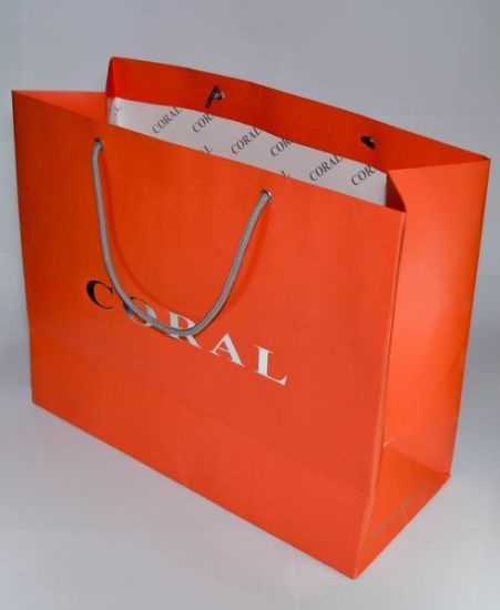 High Quality Paper Bag with Logo Printing