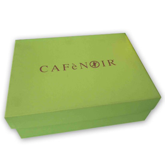 High-End Cosmetic Packaging Box with Sponge