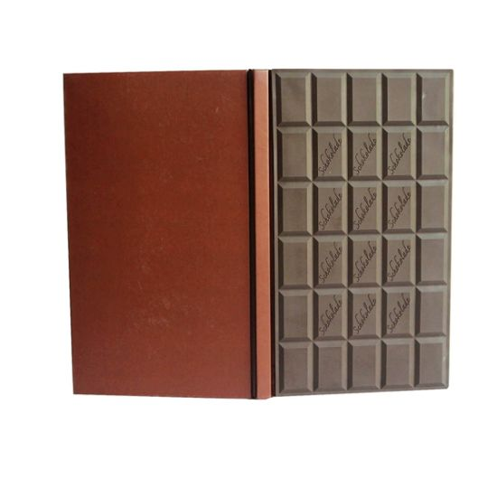 Custom Shape Leather Hard Cover Book Printing (OEM-BP23)