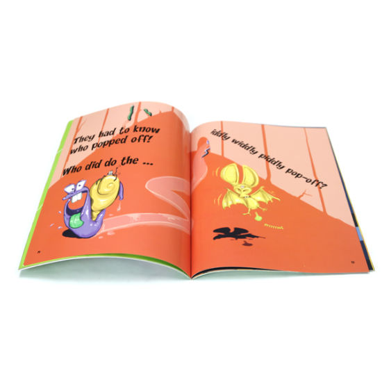 Custom Color Children Book Printing (OEM-SC018)