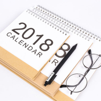 Customized Desk / Table Calendar for Gift, Paper Calendar