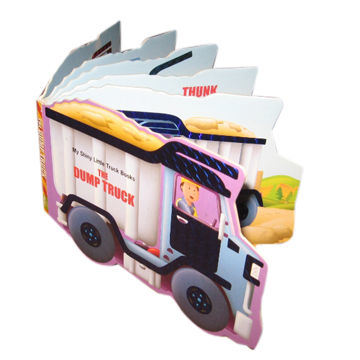 Custom Shape Children Book Printing with High Quality